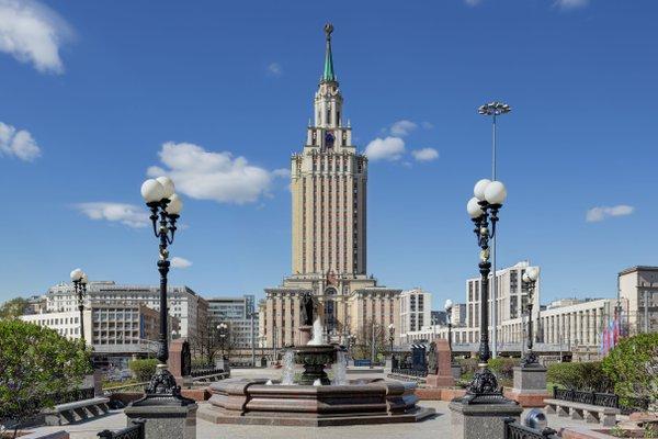 Хилтон Москва Ленинградская - фото 23