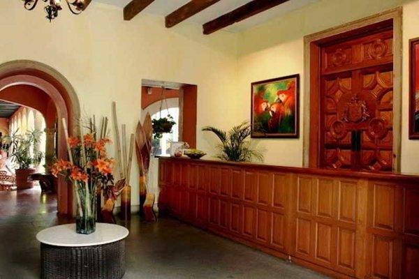 Hotel Racquet Cuernavaca - фото 15