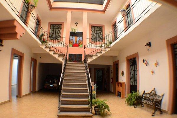 Hotel del Capitan de Puebla - vitrales - фото 14