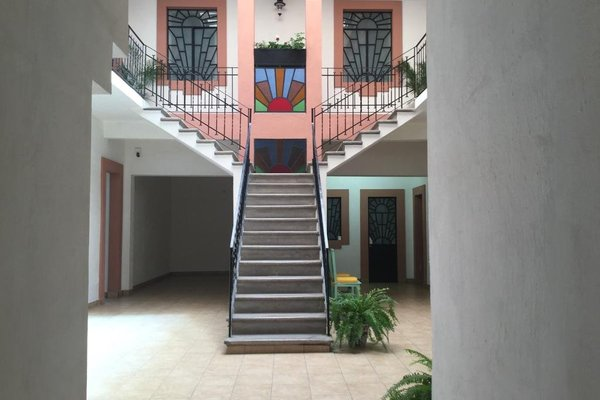 Hotel del Capitan de Puebla - vitrales - фото 16