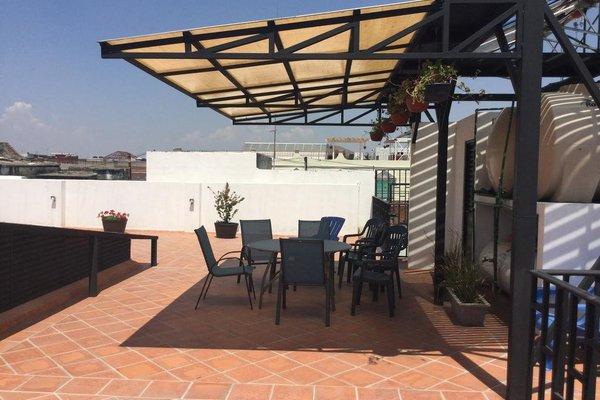 Hotel del Capitan de Puebla - vitrales - фото 21
