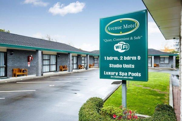 Avenue Motel Palmerston North - фото 23