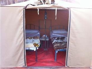 Гостиница «The Caravans Camp», Вади Рам