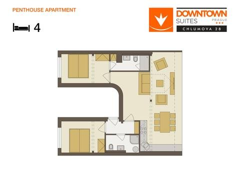 Downtown Suites Chlumova - фото 7