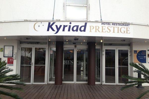 Kyriad Prestige Le Bourget - Aeroport - фото 23