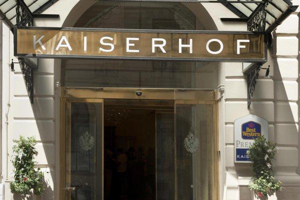 Best Western Premier Kaiserhof Wien - фото 21
