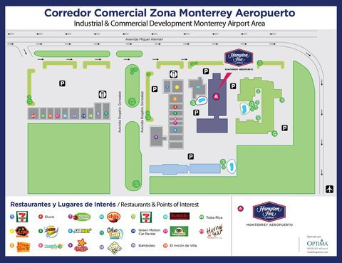 Hampton Inn Monterrey-Airport - фото 6