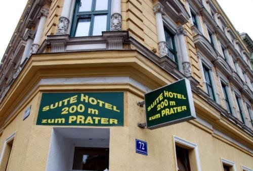 Suite Hotel 200m zum Prater - фото 23