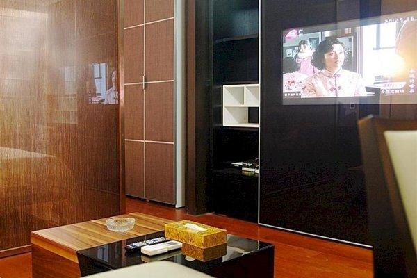 Pazhou Linjiang Shangpin Hotel Apartment - фото 11