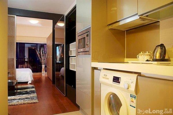 Pazhou Linjiang Shangpin Hotel Apartment - фото 13