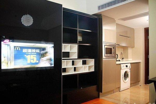 Pazhou Linjiang Shangpin Hotel Apartment - фото 18