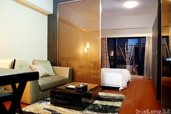 Pazhou Linjiang Shangpin Hotel Apartment - фото 6