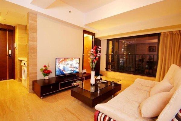 Pazhou Linjiang Shangpin Hotel Apartment - фото 7