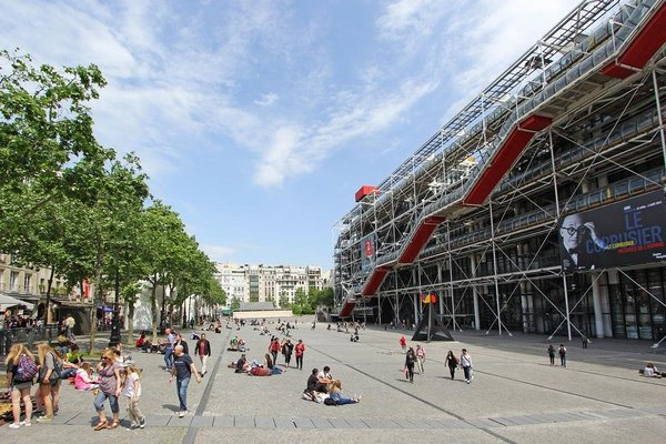 Short Stay Apartment Pompidou - фото 13