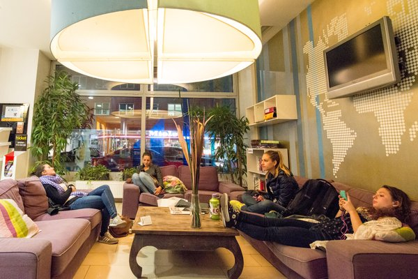 Wombats City Hostel Vienna - The Lounge - фото 7