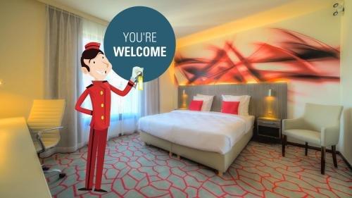 Hotel Lido **** Mons Centre - фото 7