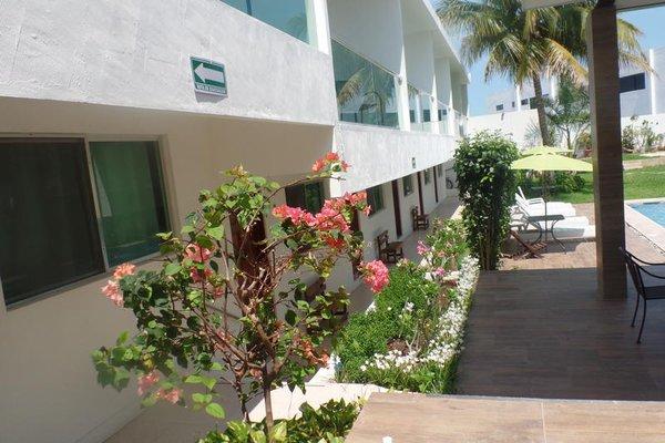Hotel Villa Escondida Campeche - фото 15