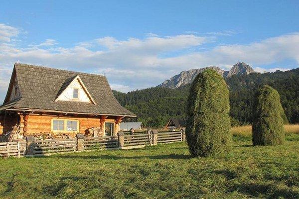 Domek Drewniany pod Giewontem z kominkiem - фото 20