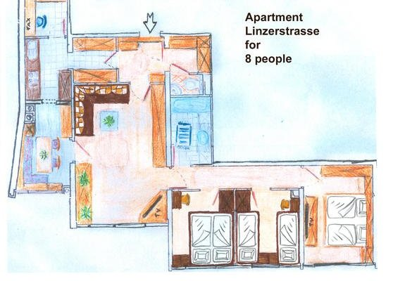 Apartment Vacha Linzerstrasse - фото 17