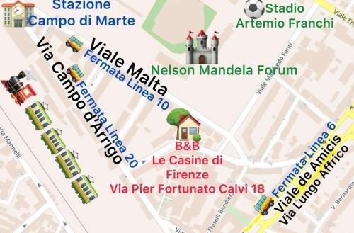 BB Le Casine di Firenze - фото 7
