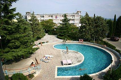 Отель «ТОК Восход», Алушта
