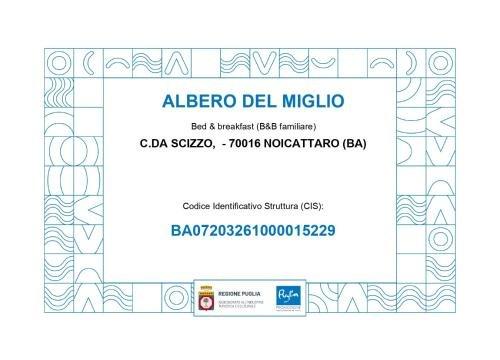B&B Albero Del Miglio - фото 7