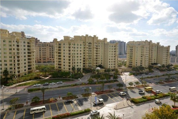 Wider View - Palm Jumeirah - Al Nabat Residence - фото 32
