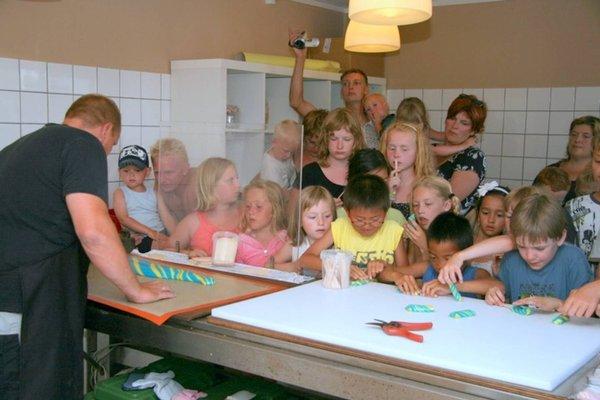 Hytte på børnevenlig campingplads., Сорё