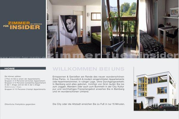 Bed & Breakfast Zimmer fur Insider, Бамберг