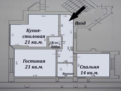 Apartments na Lesoparkovoy 2 A - фото 11