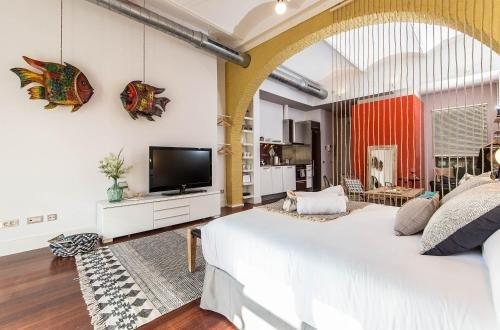 Sweet Inn - Loft Villa Olimpica Beach - фото 1