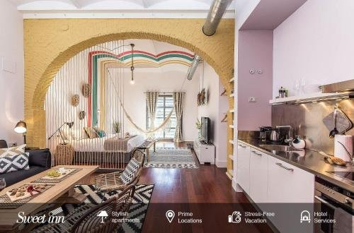 Sweet Inn - Loft Villa Olimpica Beach - фото 9
