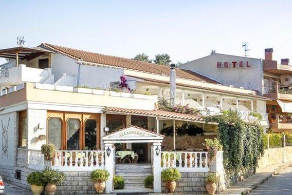 Гостиница «ALEXANDROS», Néa Fókaia