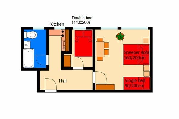 Apartment Moldau - фото 8