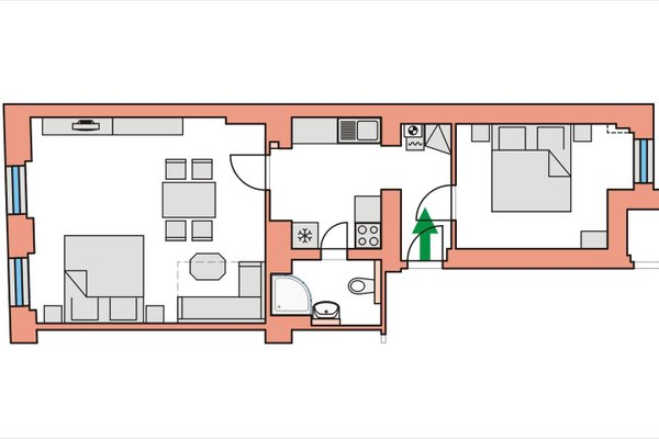 Apartmany U Divadla - фото 14