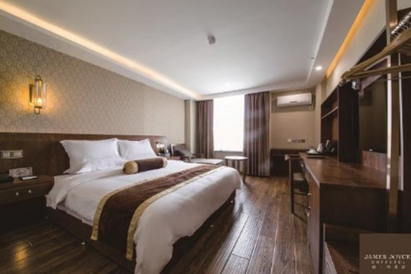 James Joyce Coffetel Hotel Chengdu Baicao Street Metro Station Branch, Xipu