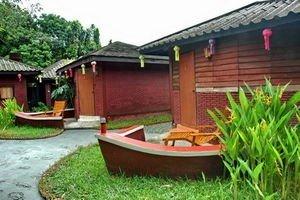 Scorpion Tailed Boat Village
