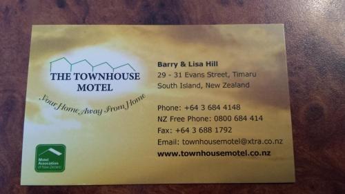 Townhouse Motel - фото 18