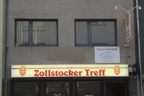 Zollstocker Treff Gastehaus Pension - фото 0