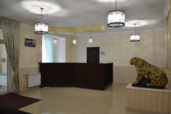 Отель Снежный Барс Чегет - фото 17