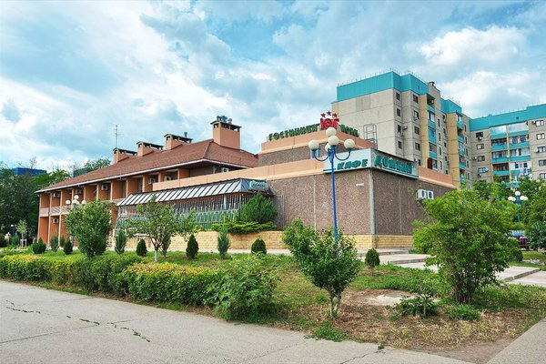 Отель Юг - фото 23