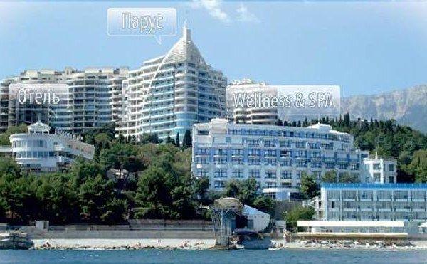 Курортная гостиница «Приморский Парк», Ялта