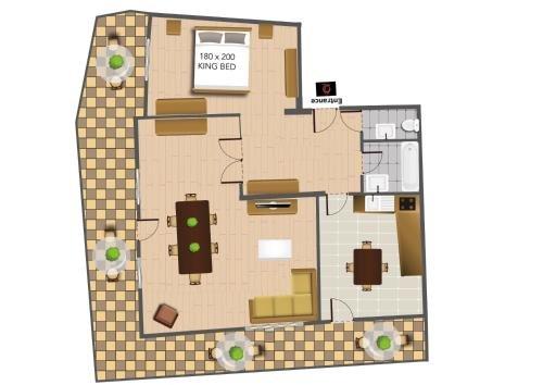 The Queen Luxury Apartments - Villa Carlotta - фото 22