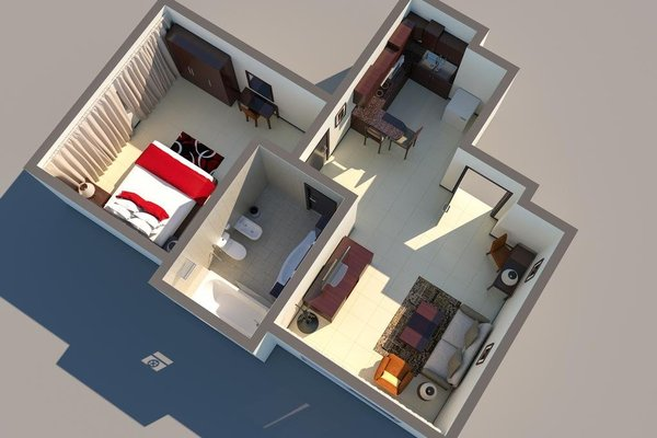 Ewan Ajman Suites Hotel - фото 16