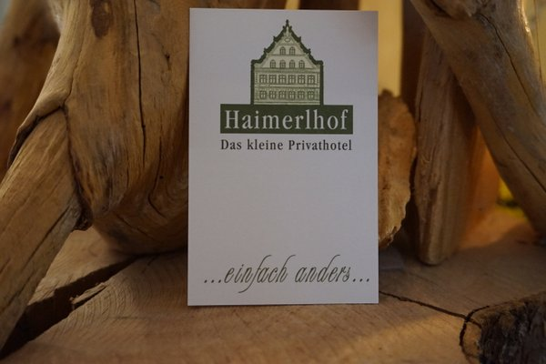 Haimerlhof Das kl. Privathotel - фото 22