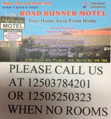 Road Runner Motel - фото 16
