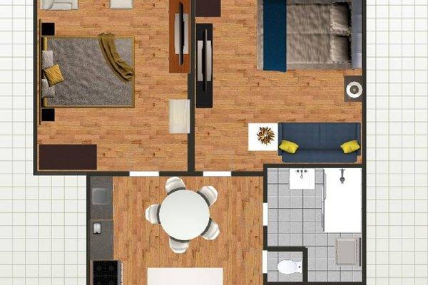Apartment Stepanska 37 - фото 22