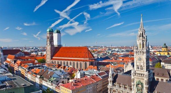 Купить дешевые авиабилеты в Мюнхен