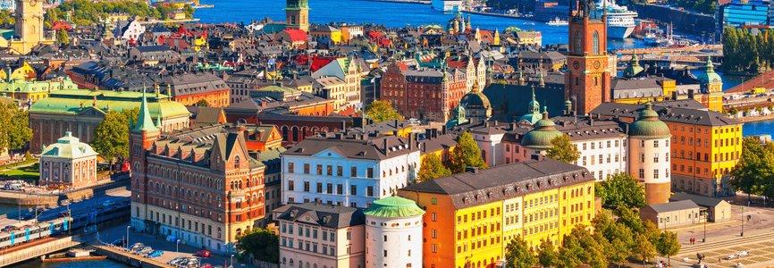 Купить авиабилеты Москва - Швеция дешево и без комиссии. Цены на прямые рейсы