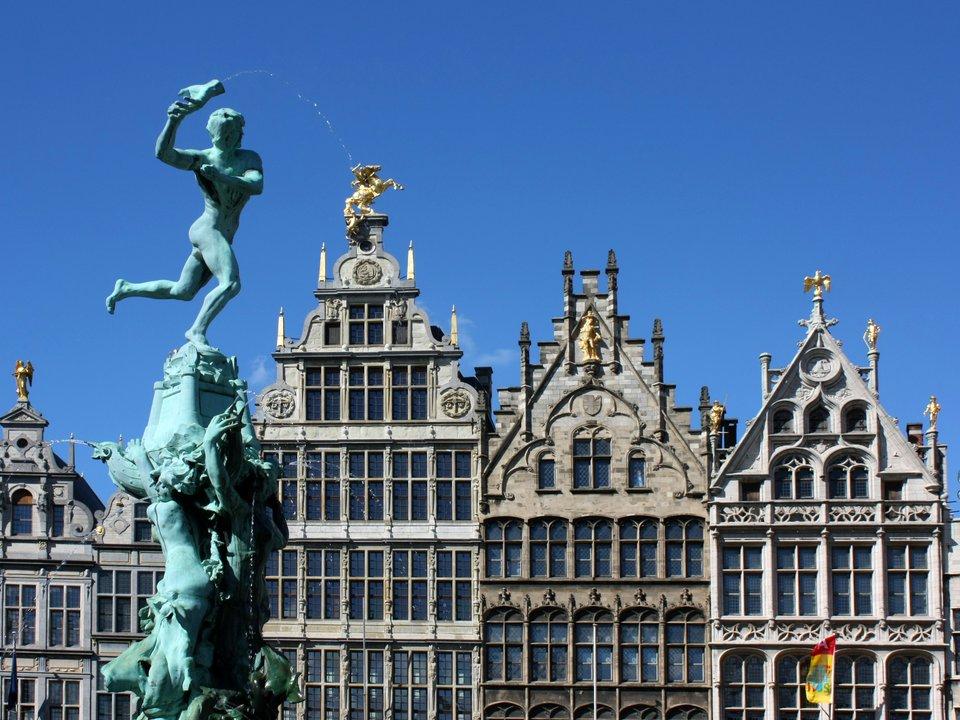 Lennot Antwerpeniin edullisemmin netistä.